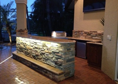 Backyard Kitchen Remodel Fort Myers