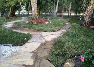 Flagstone-Walkways-and-irrigation