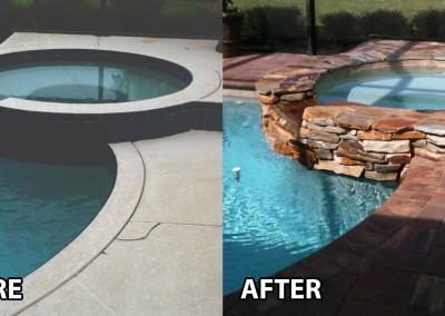 Before-and-After-natural-stone-redesign-pool-and-spa